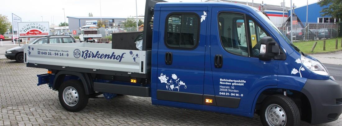 Fahrzeugbeschriftung für jede Art von PKW, Bulli oder Transporter