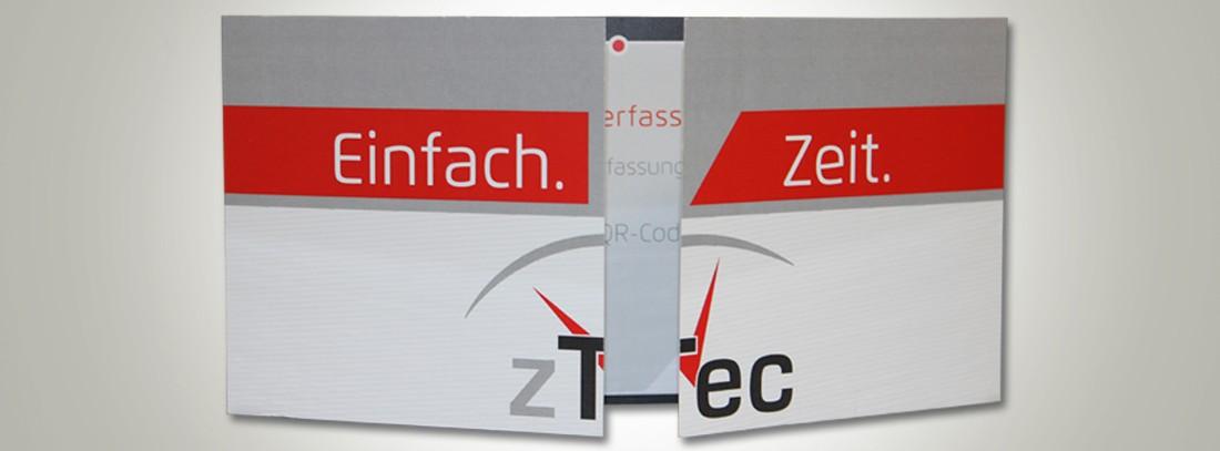 Print-Werbung für Broschüren, Flyer, Visitenkarten und mehr.